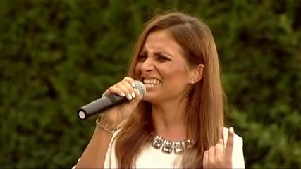 Мария в къщата на съдиите - X Factor (14.10.2014)