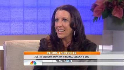 Майката на Justin Bieber - Pattie Mallette говори за взаимноотношенията им със Selena Gomez