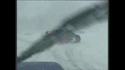 Subaru snow Drift