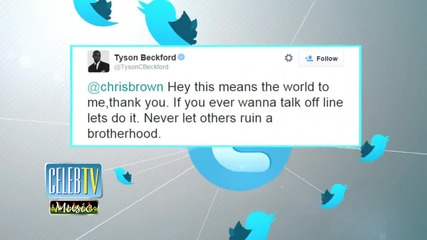 Chris Brown Apologizes to Tyson Beckford