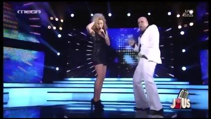 Stella Kalli & Markos Seferlis - Stayin' Alive 8 Live J2sus 21.5.14