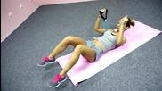 Рамене и Гръдни мускули - Тренировка в домашни условия!