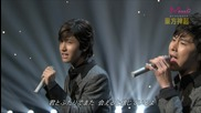 Tvxq - Please Stop Time & Stand By U (111009 Nhk Music Japan Special)