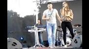 Milica Pavlovic i Petar Mitic - Tonska proba - (LIVE) - Vladicin Han ( 2013 )