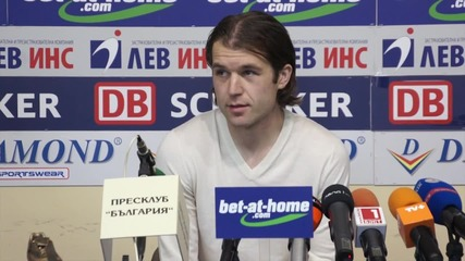 Иван Цветков: Имаме футболисти за схемата на Костов, така се чувствам много добре