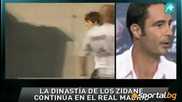 Синът на Зинедин Зидан - Енцо започна подготовка с първия отбор на Реал Мадрид