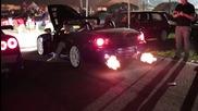 Honda S2000 - Xвърля Голями Пламъци