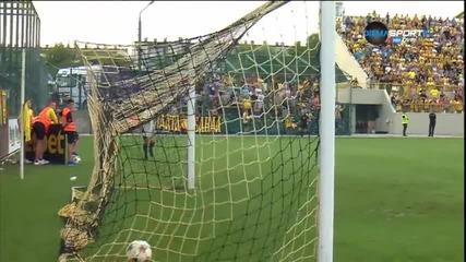 Голът на Ивайло Димитров за Славия срещу Ботев Пловдив в мач от 5-ия кръг
