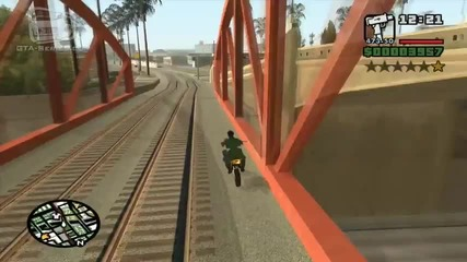 Gta San Andreas - Mission 15 - Wrong Side of the Tracks