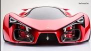 Новатa концепция за шедьовър от Ferrari: F80 Concept 2014