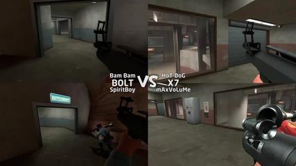 Bolt vs X7 - 2on2 - Team Fortress 2