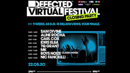 Defected Virtual Festival 6.0 - Tq Grant