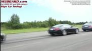 Hd - Nissan Gt - R vs Bmw M5 Sedan Evosport headers. Dinan muffler and Rpi Scoops