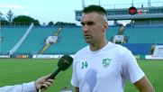 Камбуров: Целта пред нас е да играем в Европа