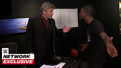 Leon Ruff's furious demand for William Regal: WWE Network Exclusive, May 11, 2021