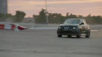 Nissan Juke-r Улично състезание Дубай