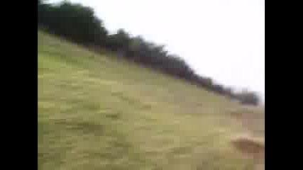 Търкаляне В Тревата