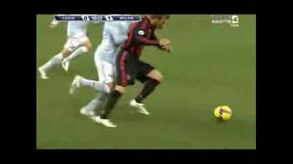 David Beckham Ac Milan vs Lazio
