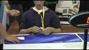 Световен рекорд на кубчето на рубик - 5.66 секунди