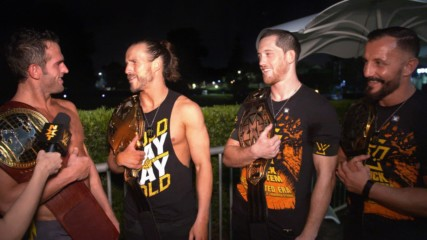 Undisputed ERA celebrates fulfilling prophecy: WWE.com Exclusive, Sept. 18, 2019