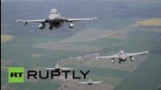 Lithuania: Norway and Italy conduct NATO Baltic air policing operations