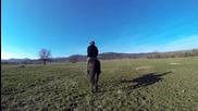 Ездачи под небето на Красновски бани