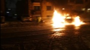 Canada: Cars set alight during Montreal police brutality protest