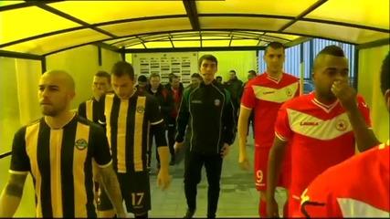 Ботев Пловдив – ЦСКА 2:0, А група, 22-и кръг