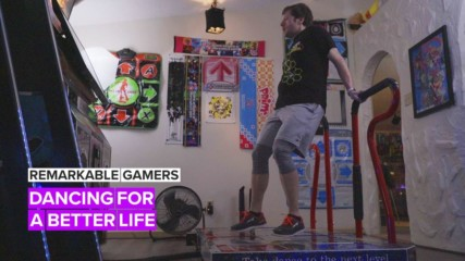 Remarkable Gamers: Dance Dance Revolution saved his life