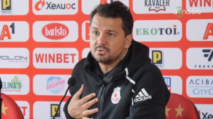 Крушчич с коментар за гневната реакция на феновете на ЦСКА