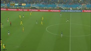 World Cup 2014 - Mexico vs Cameroon 1-0