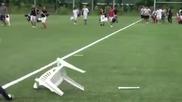 когато футболистите си играят
