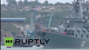 Russia: Black Sea Fleet's flagship Moskva heads for the Med