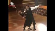 Dancing Stars - Ники Кънчев И Стефка Костадинова Танцуват Англ
