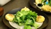Печено козе сирене със зелена салата - Бон апети (18.04.2018)