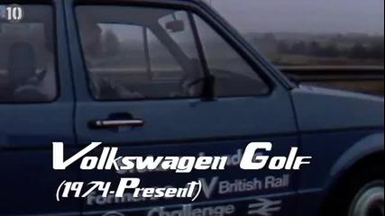 Топ 10 най - популярни автомобила на всички времена ..