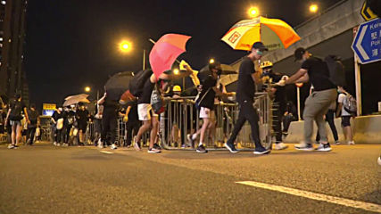 Hong Kong: Clashes erupt as demonstrations against extradition bill continue