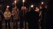 Lithuania: Torch-lit march to honours those who died in independence movement