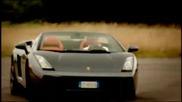 Тоp Gear / Lamborghini Gallardo Spyder supercar review - Top G