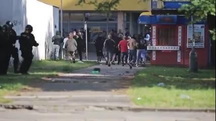 Czech & Polish Hooligans vs Police 24.08.2013