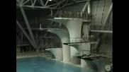 Тренировка китайски скачачи във вода
