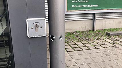 Germany: Police investigate bullet holes discovered near Stuttgart shisha bar