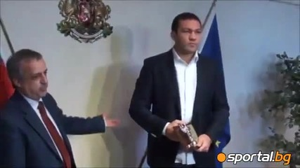 Sports ministry awards Kubrat Pulev