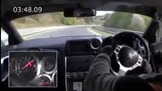 Феномена Nissan Gt - R R35 Spec V и Нюрбургринг - Best Motoring Част2