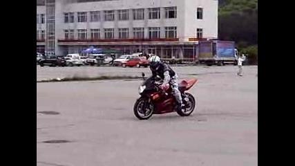 Пантата със Suzuki Gsx - R 1000