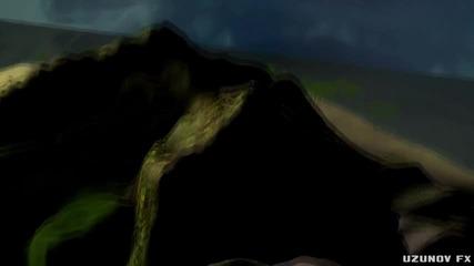 House in Ocean - 3d Анимация