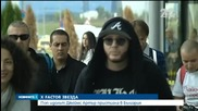 Поп идолът Джеймс Артър пристигна в България