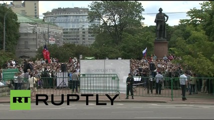 Russia: Opposition rally calls for science and education reforms