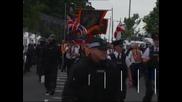 Деветима пострадали по време на сблъсъци в Белфаст