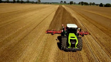 The New Claas Xerion